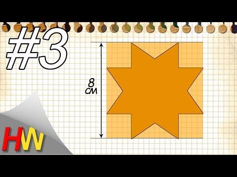 """Как сделать шаблон """"звездочку"""" для круглых бантиков?Бантики своими руками.Шаблон № 3."""
