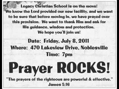 Legacy Christian School in Noblesville - Prayer ROCKS!