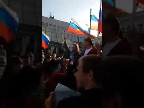 Митинг за Навального 7 октября во Владивостоке (07.10.17)
