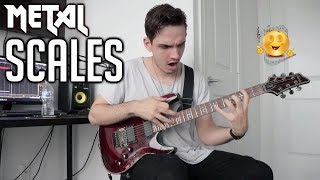 The Most Used Scales in Metal (Riff Edition)