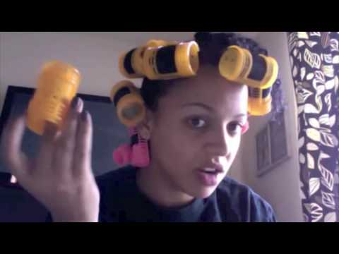Roller Set Wrap Natural Hair http://yippr.es/video/roller-set-and-silk-wrap-on-natural-hair/p38hhJN7tlg.html