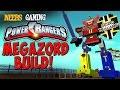 Scrap Mechanic - Power Rangers Megazord Build!