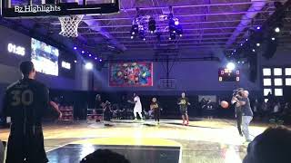 Steph Currys Mom Sonya Curry Hits An Insane Underhand Halfcourt Shot ! (Curry Splash)