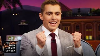 Dave Franco is a Big Time Cat Guy
