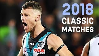 10 Classic Matches from the 2018 AFL Season