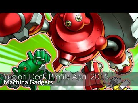 Machina Gadgets - Yugioh Deck Profile April 2015 video
