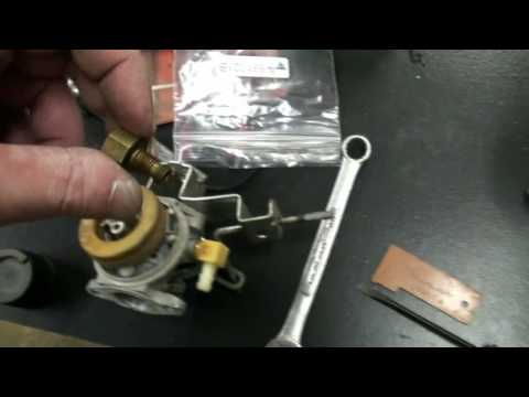 Tecumseh Snow King Carburetor Repair Video on Troy-Bilt Snow Blower part #3