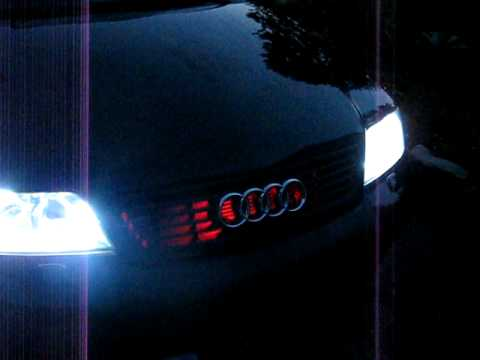 my audi a6 c5 avant knight rider led lights and drl led lights