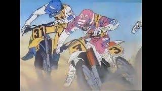 Retro MX Racing Anime - Kaze wo Nuke!