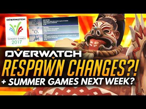 Overwatch | RESPAWN CHANGES +SUMMER GAMES NEXT WEEK? [News]