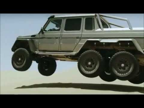 2013 Mercedes Benz g63 amg 6x6 Video Review