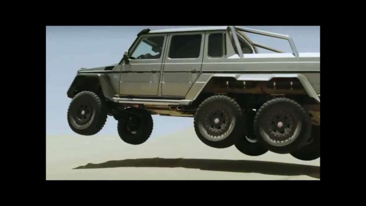 2013 Mercedes Benz G63 Amg 6x6 Video Review Youtube