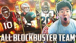 ALL BLOCKBUSTER TEAM! OVERPOWERED LINEUP! Madden 18 Ultimate Team