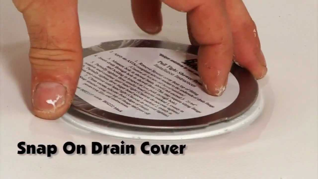 Bruco Easy Install Shower Drain How To Install A Shower