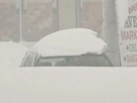 Big Snowstorm Hits NY, Deep Freeze Nationwide