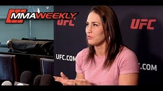 Jessica Eye: 'I am not going to fight anybody outside the Octagon. I want the money.'