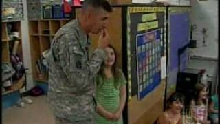 Girl, 7, Surprised By Father