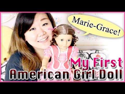 My First American Girl Doll Box Opening : Marie-Grace!!