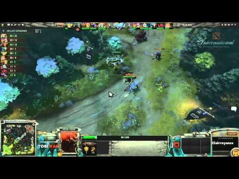 RoXKIS vs DD DOTA Game 3  DOTA 2 International Western Qualifiers - TobiWan & Soe