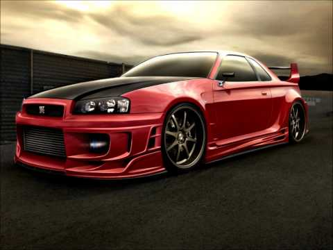Techno music VS. Nissan Skyline (HD) Music Videos