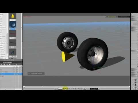 Cleatis Learns to Drive – iClone Steering wheel tutorial by SmallWStudio