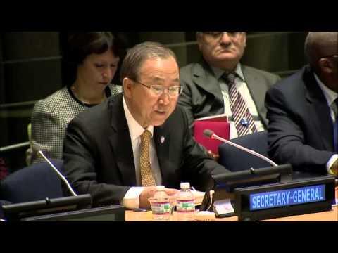 Ban Ki-moon, Briefing on the Ebola virus outbreak (20 January 2015)
