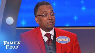 Steve Harvey and Mike are TIRED of HOLDING THIS IN! | Family Feud