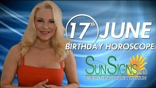 Birthday June 17th Horoscope Personality Zodiac Sign Gemini Astrology