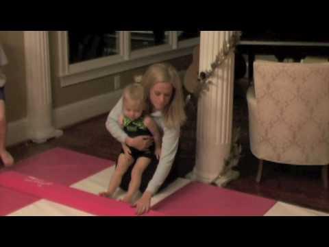 Beginner Home Gymnastics Balance Beam and Mat