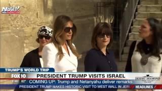 WATCH: Melania Trump and Ivanka Trump Visit Western Wall in Jerusalem During Trip to Israel