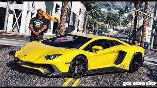 download lagu Gta 5 Mod  Lamborghini Aventador Lp750-4 Sv - gratis