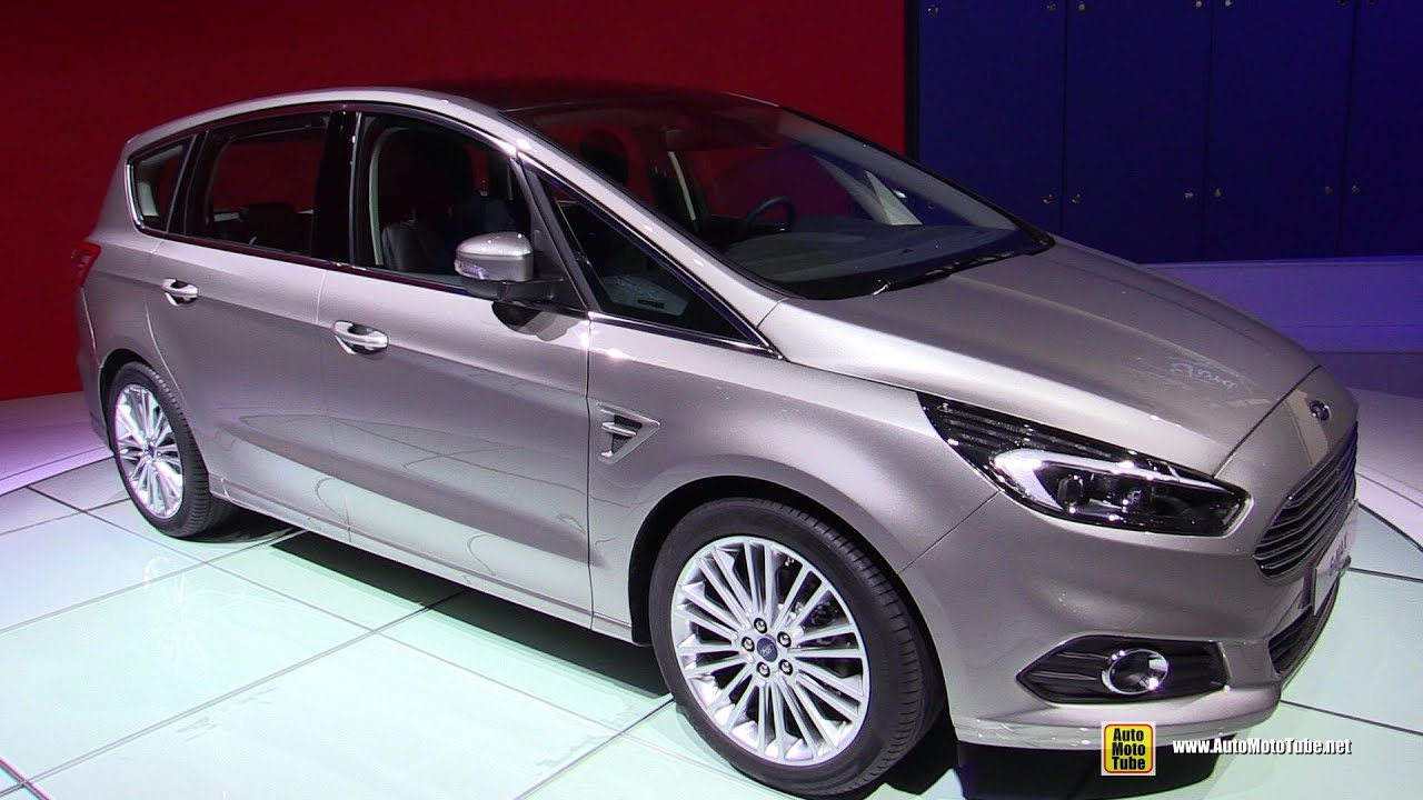 2015 ford s max exterior and interior walkaround 2014 paris auto show youtube. Black Bedroom Furniture Sets. Home Design Ideas