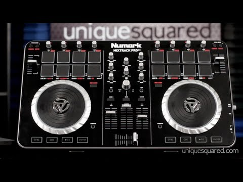 Numark Mixtrack Pro 2 Overview and Demo | UniqueSquared.com