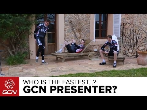 Who Is The Fastest GCN Presenter?