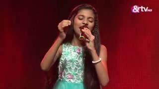 Saanvi Shetty Jiya Jale Liveshows Episode 24 The Voice India Kids