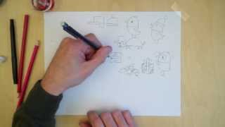 Behind the scenes at Sago Mini - Drawing Sago Mini Forest Flyer