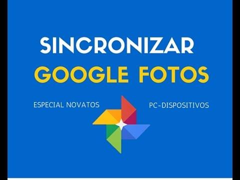 Cómo Activar y Sincronizar Automáticamente Google Fotos desde Ordenador y Dispositivos