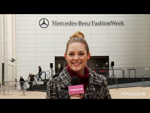Join Allison &amp; FabSugarTV at New York Fashion Week!