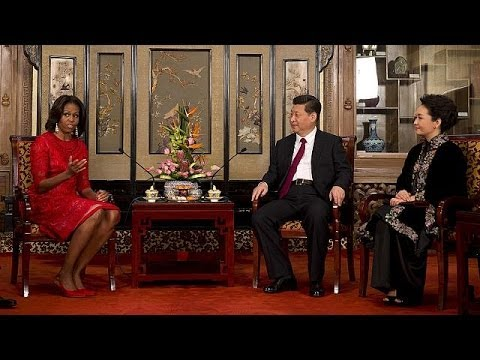 Michelle Obama visita China para estrechar lazos entre Washington y Pekín