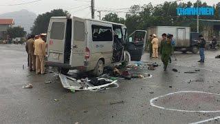 Tông xe kinh hoàng ở Phủ Lý, Hà Nam, 17 người đi đón dâu thương vong