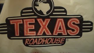 Texas Roadhouse deliciousness! Ribs & . . . oooh honey!