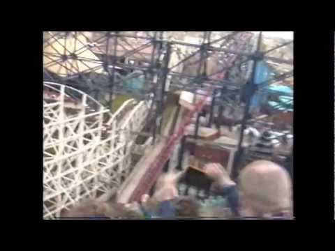 Pepsi Max Big One Roller Coaster Backseat POV 1996 Blackpool Pleasure Beach On-Ride UK