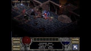Diablo 1 - Walkthrough - Level 3 - Eliminating Skeleton King Minions - 2018-10-21