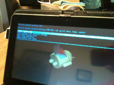 Remove Password ( Hard Reset, Factory Reset), Android 4.0 Tablet PC