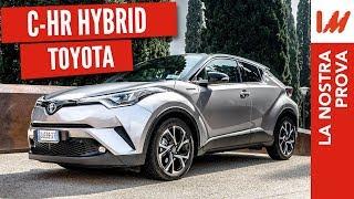 Prova Toyota C-HR 2018: l'ibrido con tanto stile e pochi consumi! (26Km/l)