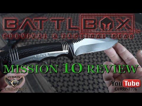 BattlBox Review Mission 10 December 2015