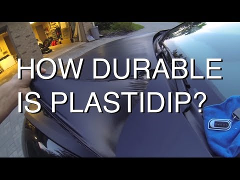 How Durable is PlastiDip (Keying my own Car)