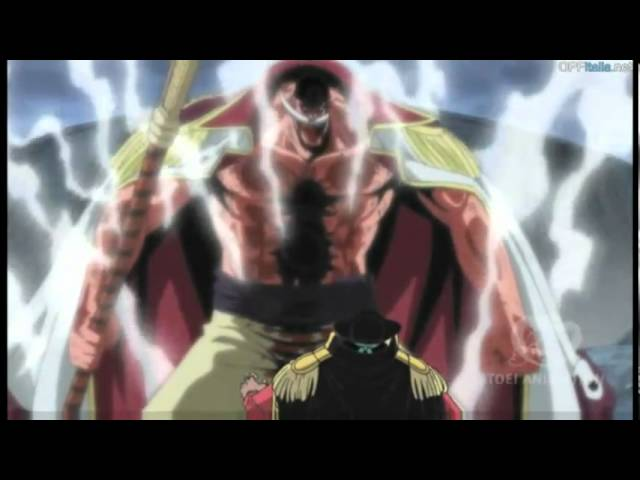 Whitebeard vs. Blackbeard (Whitebeard's death)