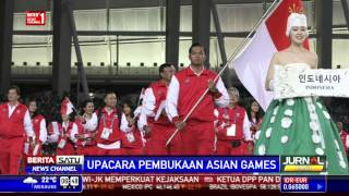 Meriahnya Upacara Pembukaan Asian Games di Incheon