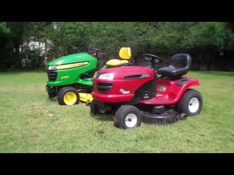 John Deere VS basic riding mower